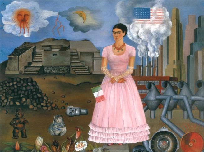 11-Frida Kahlo Autoritratto al confine tra Messico e Stati Uniti-U43010353825298Nb-245x224@Corriere-Print-kbaG-U430101068415250To-1224x916@Corriere-Web-Roma